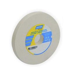 Rebolo Reto Branco 152X19.0 100 K  Fe38A [ 66243464690 ] - Norton