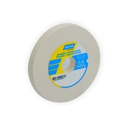 Rebolo Reto Branco 152X19.0 120 K  Fe38A [ 66243464692 ] - Norton
