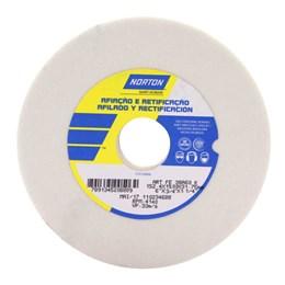 Rebolo Reto Branco 152X19.0  60 K  Fe38A [ 66243464685 ] - Norton