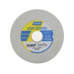 Rebolo Reto Branco 152X25.4  60 K  Fe38A [ 66243464697 ] - Norton