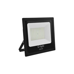 Refletor LED 100W 6500K 7500 Lúmens IP65 [ 200.58.0196-0 ] (Autovolt) - G-Light