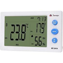 Relógio Termo Higrometro [ MT-241A ] - Minipa