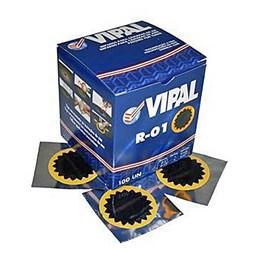 Remendo Estrela 40MM R-01 Amarelo 100 unidades [ 345101 ] Vipal