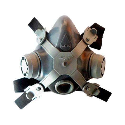 Respirador 1/4 Facial sem  Filtro com 1 Via [ 2001-S ] - Alltec