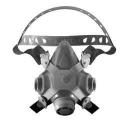 Respirador 1/4 Facial sem  Filtro com 2 Via [ 2002-S ] - Alltec