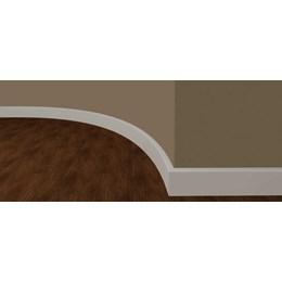 Rodapé Eva Autocolante 7 x 1,5CM  de 2,35M Branco Liso [ RP700DIY1 ] - Artyflex