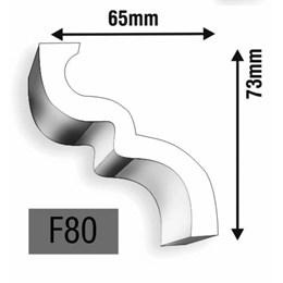 Rodateto em Poliestireno [ F80 ] - Epex