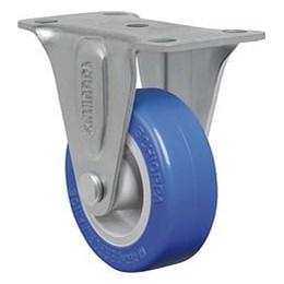Rodízio Fixo Placa 2 Azul/Cin Fl 210 Tp 40Kg [ FL210TP ] - Schioppa