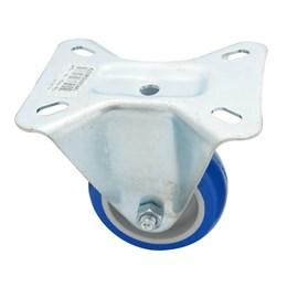 Rodízio Fixo Placa 3 Azul Fl 312 Tp 70Kg [ FL312TP ] - Schioppa