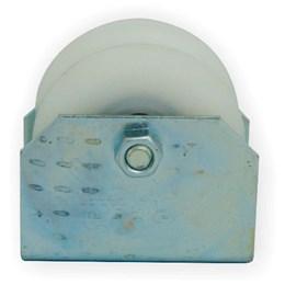 Roldana para Portão U Nylon 2.1/2 X 25 mm C/Suporte De Toni