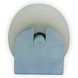 Roldana para Portão U Nylon 2.1/2 X 30 mm com Suporte [ 001461.001 ] - De Toni