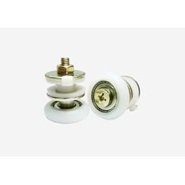Roldana para Vidro Temperado com Rolamento Excêntrica Regulável 10mm RBE 02 - Perfil