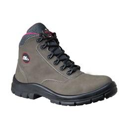 Sapato Adventure Cadarço PU BI Cinza n°34 [ 45CZFEMIP ] - Kadesh