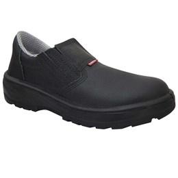 Sapato Elástico com Bico de Polipropileno Pu Bidensidade Cano Baixo [ 12144PP ] - Kadesh