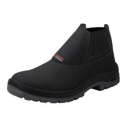 Sapato Elástico Couro PU BI 37 [ FX35201PP ] - Kadesh