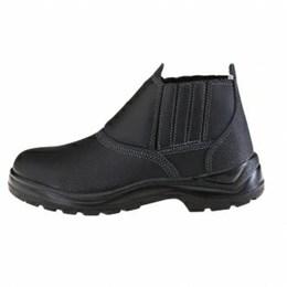 Sapato Elástico sem Bico de Aço Pu Bi [ 10VB48-BP ] - Vulcaflex