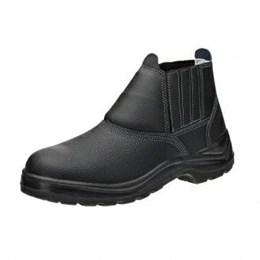 Sapato Elástico sem Bico de Aço Pu Bi 45 [ 10VB48-BP ] - Vulcaflex