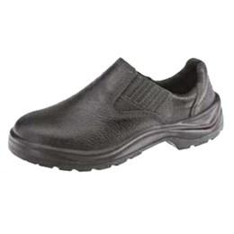 Sapato Elástico sem Bico de Aço Pu Bi Cano Baixo 39 [ 10VT48-BP ] - Vulcaflex