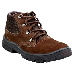 Sapato Nobuck Cadarço PU Monodensidade 38 Marrom [ N31107PP-38 ] - Imbiseg