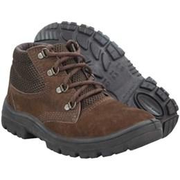 Sapato Nobuck Cadarço PU Monodensidade Marrom [  N31107PP ] - Imbiseg