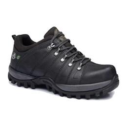 Sapato Nobuck Emborrachado 38 Grafite Cano Baixo [ CA0009-EB06/38 ] - Macboot