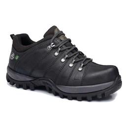 Sapato Nobuck Emborrachado 40 Grafite Cano Baixo [ CA0009-EB06/40 ] - Macboot