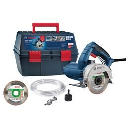 Serra Mármore a úmido GDC 151 TITAN 1500W 220V, com Kit de refrigeração, 1 Discos em Maleta - Bosch