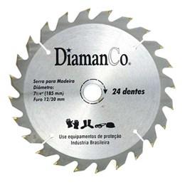 Serra Videa  7.1/4 X 24 Dentes  20mm [ 71/4 24D ] - Diamanco