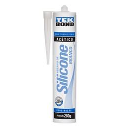 Silicone Acético Branco 280 G [ 22004002000 ] - Tek Bond