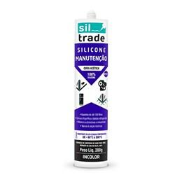 Silicone Acético Manutenção Incolor 280G [ 1560080 ] - Sil Trade