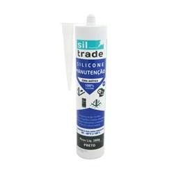 Silicone Manutenção Preto 280 gr [ 1560076 ] - Sil Trade