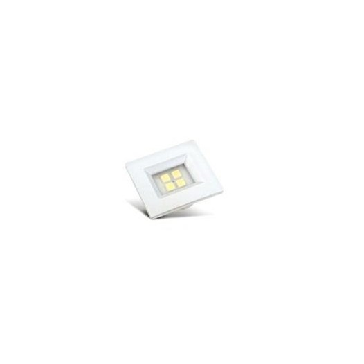 Spot Embutir 4 Leds Smd Branco Retangular 6000K [ E514.B ] - Artetílica