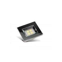 Spot Embutir 4 Leds Smd Cromado Retangular 3000K [ E314.C ] - Artetílica