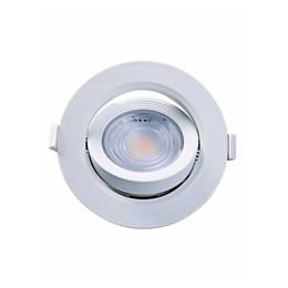 Spot Embutir Dicróico Branco com Lâmpada LED 7W 6500K Redondo [ Alltop Par20 ] (Autovolt) - Taschibra