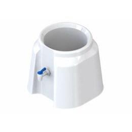 Suporte Garraf. Plástico Branco [ 3374 ] - Herc