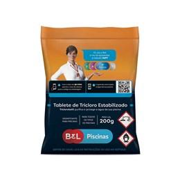 Tablete Tricoloro 200gr [ 110101749W ] - BEL PISCINAS.