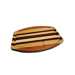 Tabua Oval de madeira [ 310 ] - Xpeto