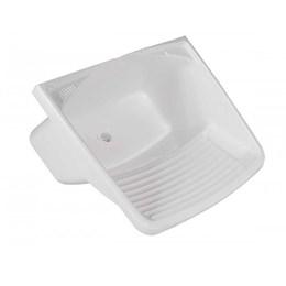Tanque Plástico Branco 60 X 50 X 30 24 Lt [ 010201002 ] - Metasul