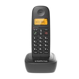 Telefone sem Fio com Identificador de Chamadas e Display Luminoso Preto [ TS2510 ] - Intelbras