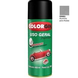Tinta Spray Alumin. Rodas - Uso Geral [ 55001 ] - Colorgin