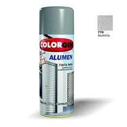 Tinta Spray Alumínio p/ Alumínio - Alumen [ 770 ] - Colorgin