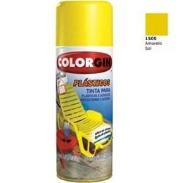 Tinta Spray Amarelo Sol - Plásticos [ 1505 ] - Colorgin