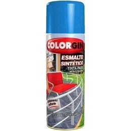 Tinta Spray Azul Médio - Esmalte Sintético [ 740 ] - Colorgin