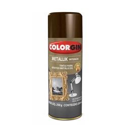 Tinta Spray Bronze - Metallik Interior [ 55 ] - Colorgin