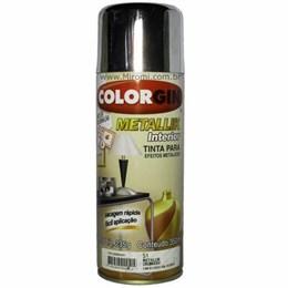 Tinta Spray Crom Metálico - Metallik Interior [ 51 ] - Colorgin