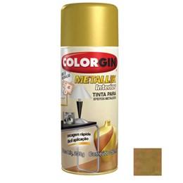 Tinta Spray Dourado - Metallik Interior [ 57 ] - Colorgin