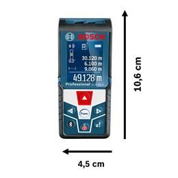 Trena a Laser alcance 50 metros com Bluetooth Glm 50 C  - Bosch