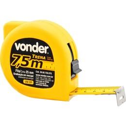 Trena de Aço 7.5 M X 25mm Graduação mm [ 3868750075 ] - Vonder