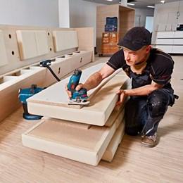 Tupia 12.0V Pinça 6MM 13000RPM sem Bateria [ GKF 12V-8 ] Bosch