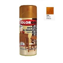 Verniz Spray Móveis e Madeira Imbuia Brilhante [ 764 ] - Colorgin